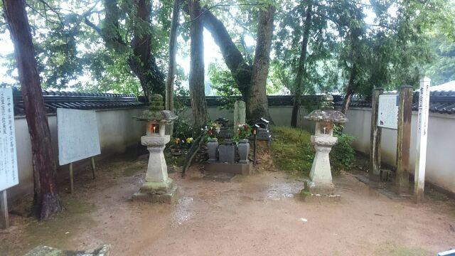 竹中半兵衛墓所