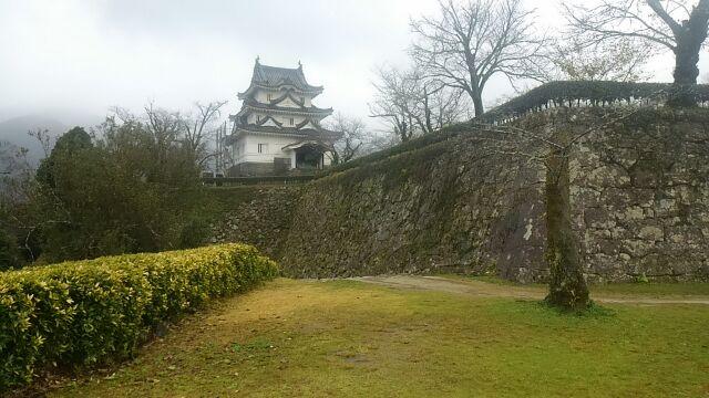 宇和島城は遠かった