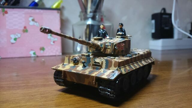 戦車はできた