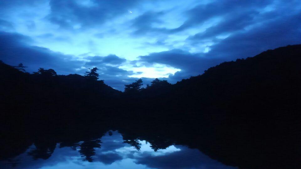 黎明の修法が原池