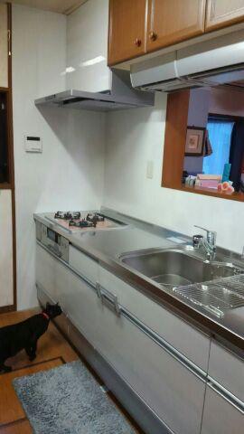 キッチン改装